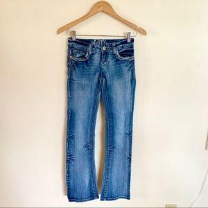 Wallflower straight leg denim jeans